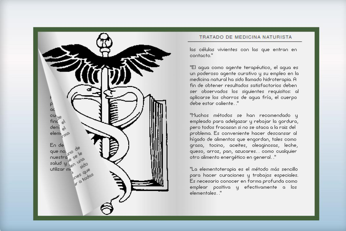 "Extracts ""Treatise of Natural Medicine"""