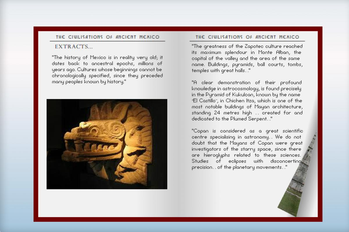 "Extracts of ""The Civilisations of Ancient Mexico"""